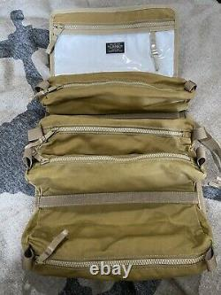 Nwt Filson Alcan Tin Cloth Tool Roll Dark Tan 1st Quality Not Second