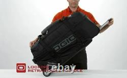 OGIO 9800 Rolling Gear Travel Bag Wheeled Luggage Suitcase Stealth Black NEW