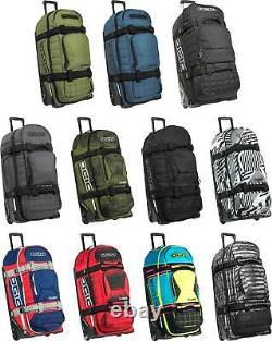 Ogio Rig 9800 Gear Bag Travel Rolling Wheeled Roller Suitcase Luggage