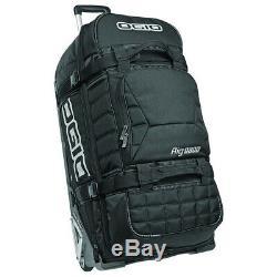 Ogio Rig 9800 Sled MX Rolling Luggage Gear Bag Black Stealth NEW