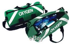 Oxygen Roll Bag used by EMT and Paramedic GREEN