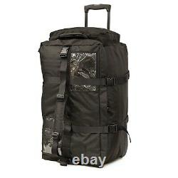 PLATATAC Short A-Bag Black Rolling Police Military Tactical Bag