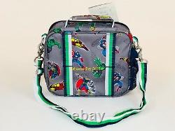 Pottery Barn Kids Marvel Rolling Backpack Boys Bookbag Superhero Avengers New