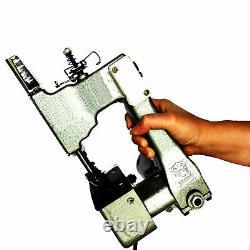 Pro Electric Handheld Bag Sealer Machine Bag Sewing Stitching Sealing + Rolls