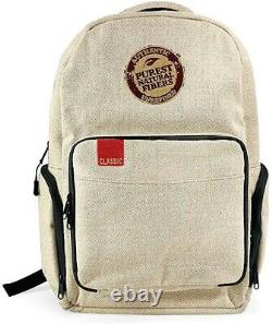RAW X Rolling Papers Burlap Backpack Smell Proof 6 Layer Design