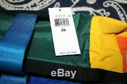 RaRe! Polo Ralph Lauren Retro 90's Colorblock Mountain Roll-Top Backpack Bag New