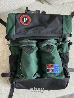Ralph Lauren Polo Sport Limited Edition Roll-Top Snow Beach Bag / Backpack