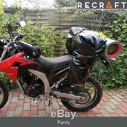 Recraft Dry Roll Bag Waterproof Motorcycle Enduro Saddlebag 70L Pants