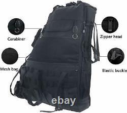 Roll Bar Storage Bag Cage Multi-Pockets for Jeep Wrangler JK JKU JL 4 Door Trunk