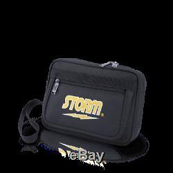 STORM ROLLING THUNDER 4-BALL Bowling Bag Black/Gold w free gifts & free ship US