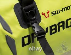 SW-MOTECH Drybag 600 Tail Bag Roll-Top Dry Bag 60L Yellow