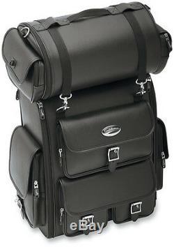 Saddlemen Ex2200 Deluxe Sissy Bar Bag Roll Bag Harley