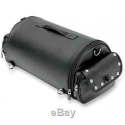 Saddlemen Express Desperado Motorcycle Back Seat /Sissy Bar /Trunk Bag Roll