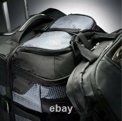 Samsonite Ripstop 35 Inch Rolling Duffel Drop Bottom Wheeled Travel Luggage Bag