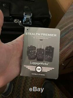 Stealth Premier 22 in Rolling Bag Luggage Works NEW LuggageWorks