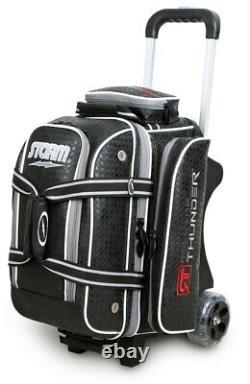 Storm Rolling Thunder 2-Ball Roller Bowling Bag Black Diamond