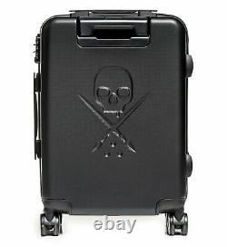 Sullen Blaq Paq Rhino Tattoo Artist Black Rolling Travel Bag Suitcase SCA3925