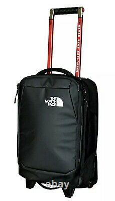The North Face Accona 19 Carry-Ons Luggage Travel Rolling Bag, Tnf Black