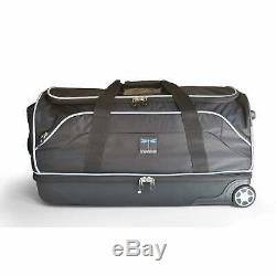 Travel Duffel Bag Garment Rack Lightweight Closet Suitcase with Rolling Wheels 28