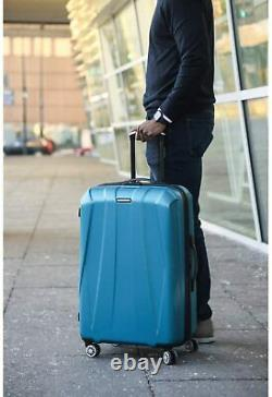 Travel Rolling Wheeled Hardside Expandable Luggage Bag With Wheels 24-Inch New