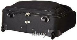 Travel Select Amsterdam Business Rolling Garment Bag, Black, One Size