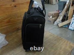 Travelpro Crew Versapack-Rolling Underseat Carry-on Bag, Jet Black