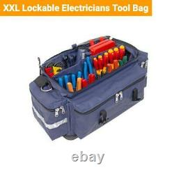 Tuff Tool Bags Supreme Sparky Set Lockable Tool Bags & Spanner Roll Mining Fifo