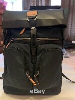 Tumi Alpha Bravo Collection-London Roll Top Backpack. Recycle Capsule Theme