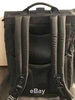 Tumi Alpha Bravo London Roll-top Backpack (Black)