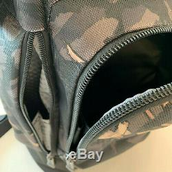 Tumi Men's Alpha Bravo London Roll Top Camo Backpack Grey Highlands
