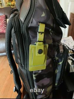 Tumi Men's Alpha Bravo London Roll-Top Camo Gray Green Backpack