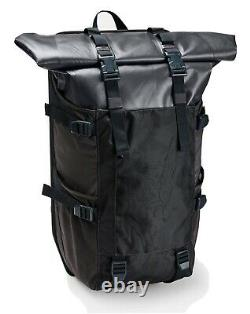 Under Armour UA Waterproof Roll Top 40L Frame Outdoor Backpack Blackout Camo
