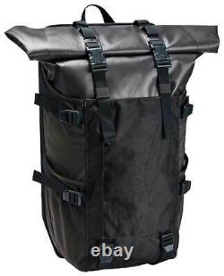 Under Armour Waterproof Roll Top 40L Backpack Blackout Camo New