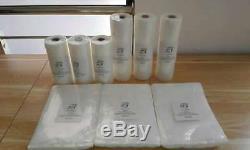 Vacuum Sealer Bags 4-11x50 Rolls Food Magic Seal Food Storage Bags! Great $Saver