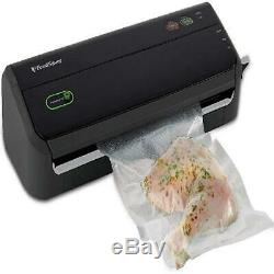 Vacuum Sealer Food Saver Machine with Starter Bags & Rolls Food Safety Certified