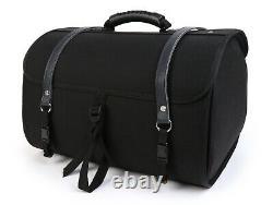 Vespa Roll Bag Vintage Look Moto Nostra Lambretta LML Modena Scomadi RA Black 35