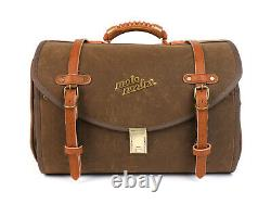Vespa Roll Bag Vintage Look Moto Nostra Lambretta Modena Scomadi RA Brown Waxed