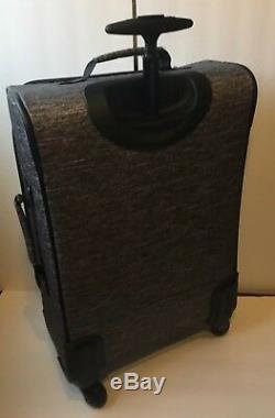 Victoria Secret Pink Wheelie Roller Suitcase Travel Luggage Bag New