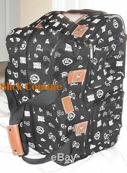 Victorias Secret PINK LUGGAGE SET Wheelie Suitcase Duffel Laundry Bag 3PC TRAVEL