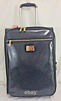 Victorias Secret Pink Supermodel Carry On Wheelie Suitcase Bag NWT