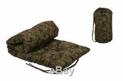 Vita-line Futon military look Reisematratze Rollbar Gästematratze incl. Bag