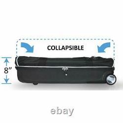 Wheeled Dance Duffel Bag Garment Rack Roll 28 In Theater Mini Closet Ecogear