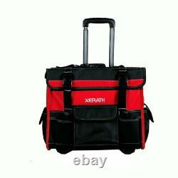 XERATH Heavy Duty Multifunctional Rolling Tool Bag & Backpack Combo